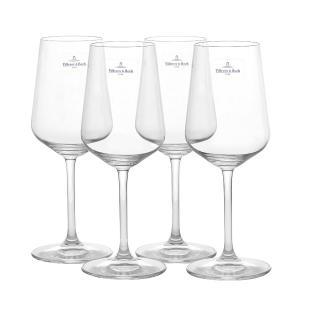 Klassische moderne Weingläser zum günstigen Preis: Villeroy & Boch Ovid-Gläser. (Foto: Amazon)