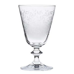 Der Weinkelch Provence von Bohemia Cristal wird per Pantographie veredelt. (Foto: Amazon)