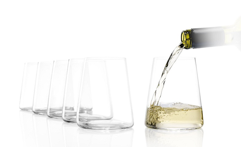 Modernes Design mit hoher Funktionalität gepaart: Weinbecher Power von Stölzle Lausitz. (Foto: Amazon)