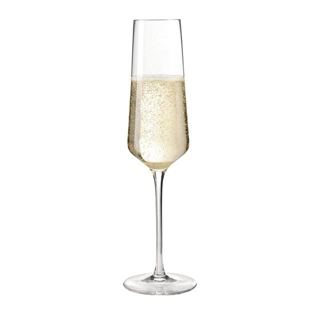 Das Sektglas Puccini von Leonardo vereint robuste Qualität mit ansprechender Gestaltung. (Foto: Amazon)