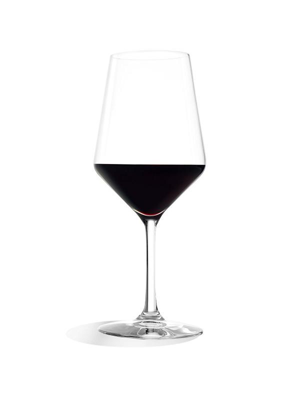 Der Kelch des Stölzle Lausitz Revolution-Weinglases ist für verschiedene Rotweinsorten geeignet. (Foto: Amazon)