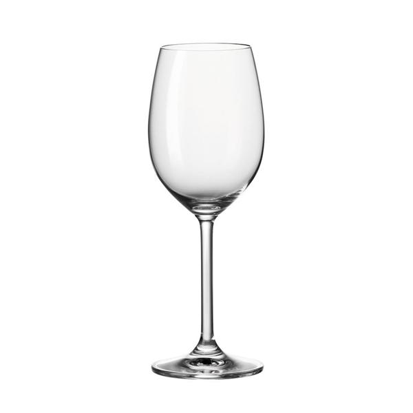Das Leonardo Daily Glas für Weißwein hat einen schmalen Kelch und ist robust verarbeitet. (Foto: Amazon)